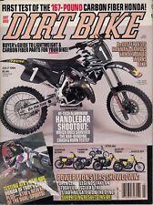 DIRT BIKE - July 1994 ATK 406 / KTM 620 R/XC D-S / Honda of Troy CR250R