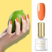 BORN PRETTY Orange Gel Nagellack UV LED Lamp Party  Shiny 6ml