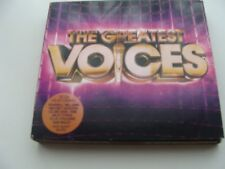 VARIOUS - THE GREATEST VOICES - 3xCD (2014) - pre-owned