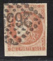 n°48a Bordeaux 40c Orange vif oblitéré GC TB timbre classique