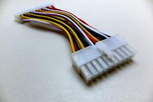 Adapter Strom ATX 20-pol Stecker auf 24-pol Buchse