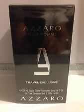 Azzaro Pour Homme Travel Exclusive 2 Pcs Gift Set For Men New In Box