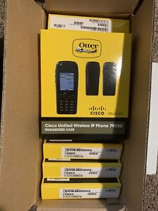 Cisco Unified Wireless IP Phone 7925G Ruggedized Case Otter Box Lot 8 each Cases