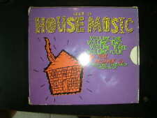 RARE 5 CD Box BEST OF HOUSE MUSIC Vol 1 - 4 + Deep Distraxion Megamix  Profile