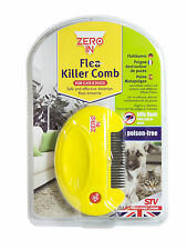 Zero In Electric Flea Killer Comb For Dogs Cats Humane Poison Free Safe