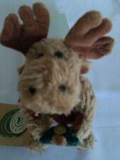 Boyds Bears Mercer Moose Christmas Plush Angel Wings Ornament