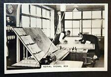 Croydon Aerodrome      Air Traffic Control    Vintage Photo Card