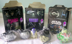 STAR WARS TRILOGY - Special Edition (1997) - HUGE lot of fast food promo items!
