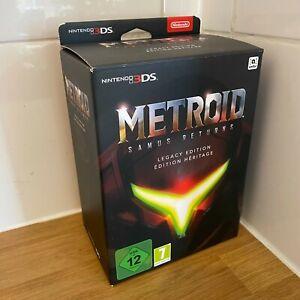 Metroid Samus Returns - Legacy Edition Nintendo 3DS - Brand New in Box - PAL UK