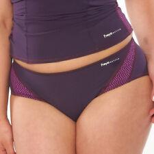 Freya Active Swim Swimwear Bikini Bottom Damson 3990 Purple Size S (8/10)