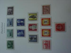 Sammlung Berlin 1955-90 postfrisch in 2 Borek-Alben mit RM-Zusätzen (ht2)