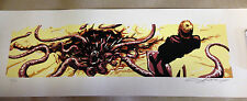 AJ MASTHAY STAR WARS THE GREAT PIT OF CARKOON VARIANT SIGNED & NUMBERED POSTER