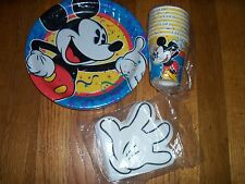 3pc Lot Party Express Mickey Mouse Confetti Birthday Party Goods Multi-color NOS