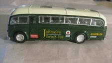Classic Johnson's Royal Transport Bus In A Small Scale Diecast By Superior dc918