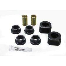 Energy Suspension 3.5118G Sway Bar Bushing Set Black Performance Polyurethane