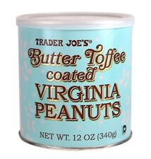Trader Joe's Butter Toffee Coated Virginia Peanuts. 12oz.