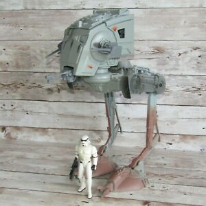 """STAR WARS 1995 Kenner     Imperial AT-ST with STORMTROOPER 3.75"""" Action Figure"""