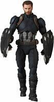 NEW Medicom Toy MAFEX No.12 CAPTAIN AMERICA INFINITY WAR Ver. Action Figure