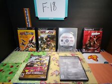 PlayStation2 Extreme Sports Lot of 6 Mixed Video Games F-18