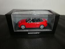 Audi s5 convertible 1:43 tofanaweiß 5011615331 Jadi limitée 999 voiture miniature