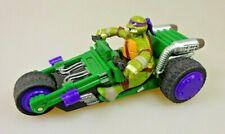 Teenage Mutant Ninja Turtles Donatello + Fahrzeug Actionfigur Viacom 2014 CF4209