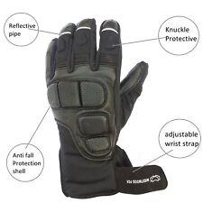 Best Leather Waterproof Thermal Warm Winter Motorcycle Motorbike Gloves