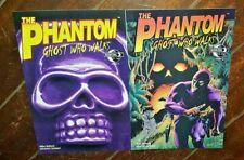 The Phantom: Ghost Who Walks #0 & #1, (2009, Moonstone): Free Shipping!