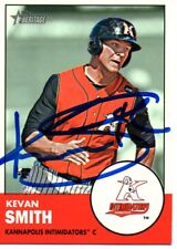 Kevan Smith Chicago White Sox 2012 Topps Heritage Minors Signed Card