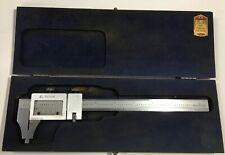 "Brown & Sharpe 599-571-6 Heavy Duty Vernier Caliper, 0-6"" Range, .001"""