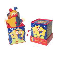 Jester Jack IN scatola POP va la Donnola Musical Tin Toy SCHYLLING tradizionale