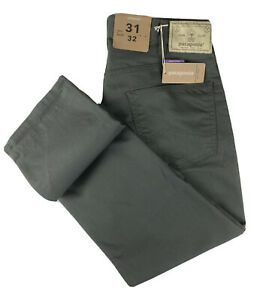 Patagonia Men's Performance Twill Jeans/Casual Pant In Forge Grey Size 31/32