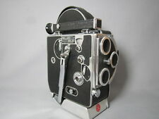 COLLECTOR'S BOLEX 16MM MOVIE CAMERA BODY. VERY EARLY MODEL! HAND STAMPED SERIAL