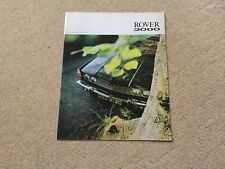 ROVER 2000 Car Brochure Publication No 689
