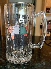Family Guy Large Glass Beer Mug Stein