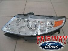 09 thru 12 Lincoln MKS OEM HeadLamp Light Decontented Level 3 No Bulbs LH Driver