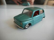 Politoys - M Fiat 600 in Green on 1:43