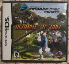 DS Original Frisbee Disc Sports : Ultimate & Golf (Manual, box and game)