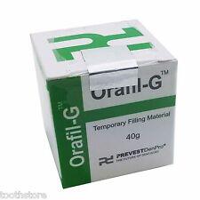 2 packs of Prevest Orafil G Denpro Temporary Filling Material (TOOTH STORE)