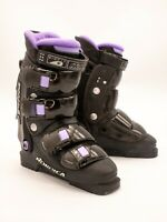 NORDICA SYNTECH 8.5 SKI BOOTS IN BLACK W/PURPLE~270mm/23.5Mondo