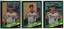 1988 CMC  25-card Tucson Toros Minor League Team Set  Craig Biggio  Ken Caminiti