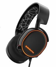 SteelSeries Arctis 5 Gaming Headset for PC, PS 4, Xbox One, VR and mobile -Black