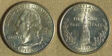 Error: 2000P MD Quarter Obv. Field Cud (Die Chip) Very Rare EC4286