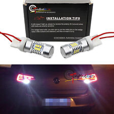 100% CAN-bus White 7440 W21W LED Bulbs For MK6 Volkswagen GTi Golf Backup Lights