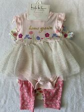 Nicole Miller Girl 4 Piece Set 6/9 Months