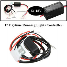 Car Led Daytime Running Light Automatic Control Module System Switch Relay DRL
