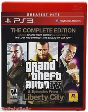 Grand Theft Auto IV 4 Complete Edition PS3 Brand New Sealed Fast Shipping