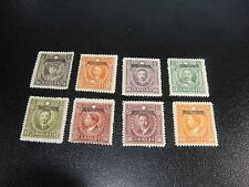 CHINA Szechwan 1933 Sc#12/22 Martyrs Stamp 8v Mint Light Hinged,SCV$50.80