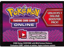 10x Pokemon Dark Explorers Code Cards for Pokemon TCG Online Booster Packs