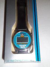 Happy Birthday Donald Duck Digital Quartz Watch ORANGE JUICE 1934 1984 - MIB