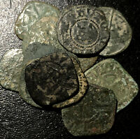 1400s Random France Silver Obole King Louis XI Rare French Medieval Rare Coin